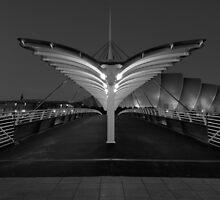 Bells Bridge Angel by Maria Gaellman
