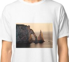 Etretat in the morning sun Classic T-Shirt