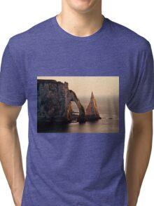 Etretat in the morning sun Tri-blend T-Shirt