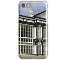 Café at the Pavilion Gardens, Buxton iPhone Case/Skin