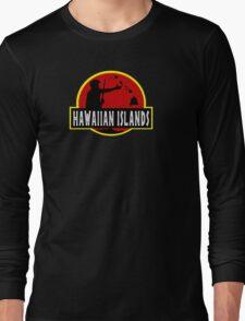 Hawaiian Islands Long Sleeve T-Shirt