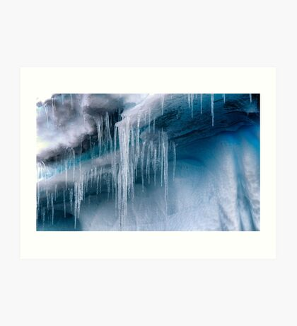 Icicles Art Print