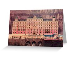 Grand Budapest Hotel - Lego version Greeting Card