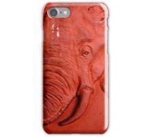 """Terracotta Elephant"" by Carter L. Shepard""  iPhone Case/Skin"