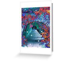 The Norwegian Arches Greeting Card