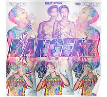 Bangerz Miley Cyrus Poster
