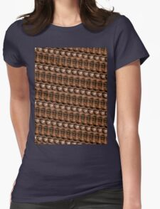 Ainsley Harriott repeating pattern Womens Fitted T-Shirt