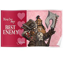 Warlord Valentine- Grom Poster