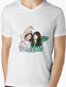 Queens Mens V-Neck T-Shirt