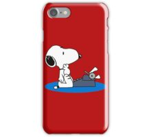 Cartoon Snoopy iPhone Case/Skin