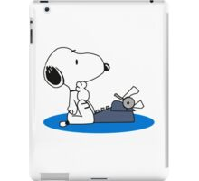 Cartoon Snoopy iPad Case/Skin