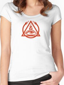The Order of the Triad - The Venture Brothers Women's Fitted Scoop T-Shirt