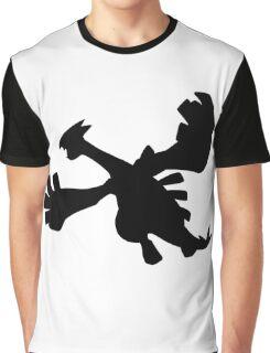 Lugia silhouette Graphic T-Shirt