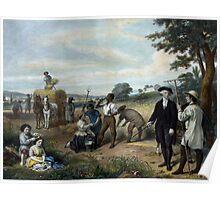 George Washington - The Farmer Poster