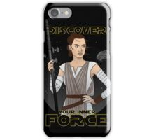 discover your inner force iPhone Case/Skin