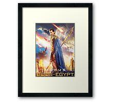Gods of Egypt - Horus Framed Print