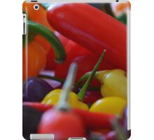 Chilli peppers iPad Case/Skin