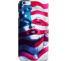 Marilyn Monroe Peace iPhone Case/Skin