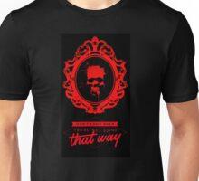 Skull in Mirror (Don't Look Back) Unisex T-Shirt
