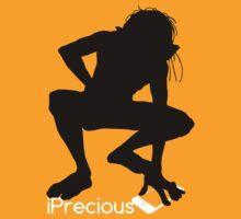 Gollum Precious Silhouette  Iphone T-shirt by theshirtnerd