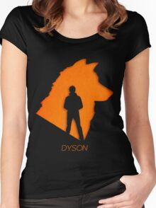 Dyson The wolf shifter - Lost Girl Women's Fitted Scoop T-Shirt