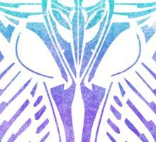 Shard Helm [ TURQUIOSE & PURPLE ] Sticker