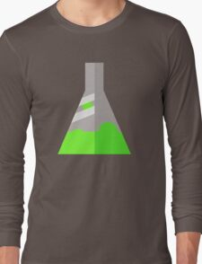Conical Flask Pattern Long Sleeve T-Shirt