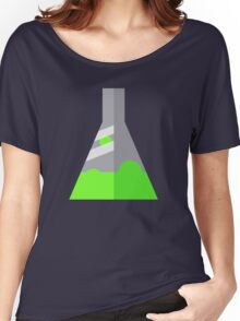 Conical Flask Pattern Women's Relaxed Fit T-Shirt