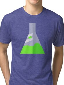 Conical Flask Pattern Tri-blend T-Shirt