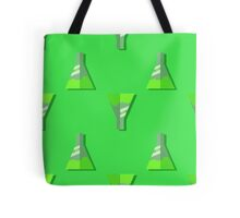 Conical Flask Pattern Tote Bag