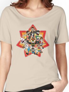 Vanoss and Crew 1930's cartoon style Women's Relaxed Fit T-Shirt