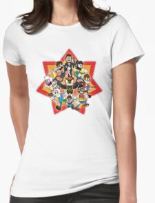 Vanoss and Crew 1930's cartoon style Womens Fitted T-Shirt