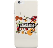 The Music Never Stopped iPhone Case/Skin