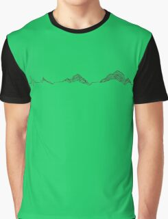 Heartbeat Mountain Graphic T-Shirt