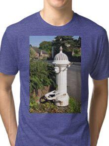 Ticknall Village Water Tap Tri-blend T-Shirt