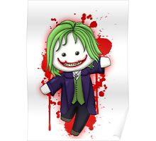Cute Joker Chibi Poster