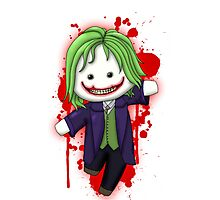 Cute Joker Chibi Photographic Print