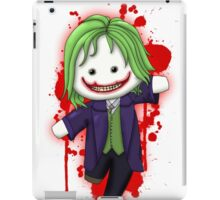 Cute Joker Chibi iPad Case/Skin