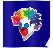 Clowning around Poster