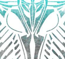 Shard Helm [ TURQUIOSE & SILVER ] Sticker
