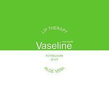 Vaseline~ Green/ Aloe Vera  by jigglypuffsarah