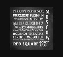Moscow Famous Landmarks Unisex T-Shirt
