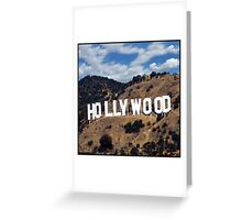 Hollywood #2 Greeting Card