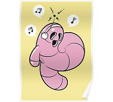 Worms Of Music Poster