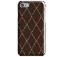 Vox-style vintage amplifier grill cloth iPhone Case/Skin