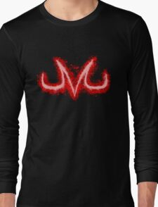 Majin splatter Long Sleeve T-Shirt