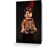 The 1tth Doctor - Matt Smith Greeting Card