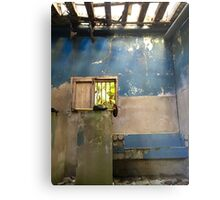 Cuba - Cienfuegos - sugar mill shoe and window Metal Print