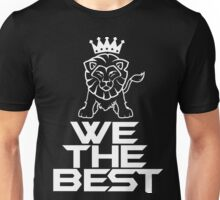 Lion Order Black Unisex T-Shirt