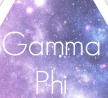 Gamma Phi Beta Galaxy Sticker